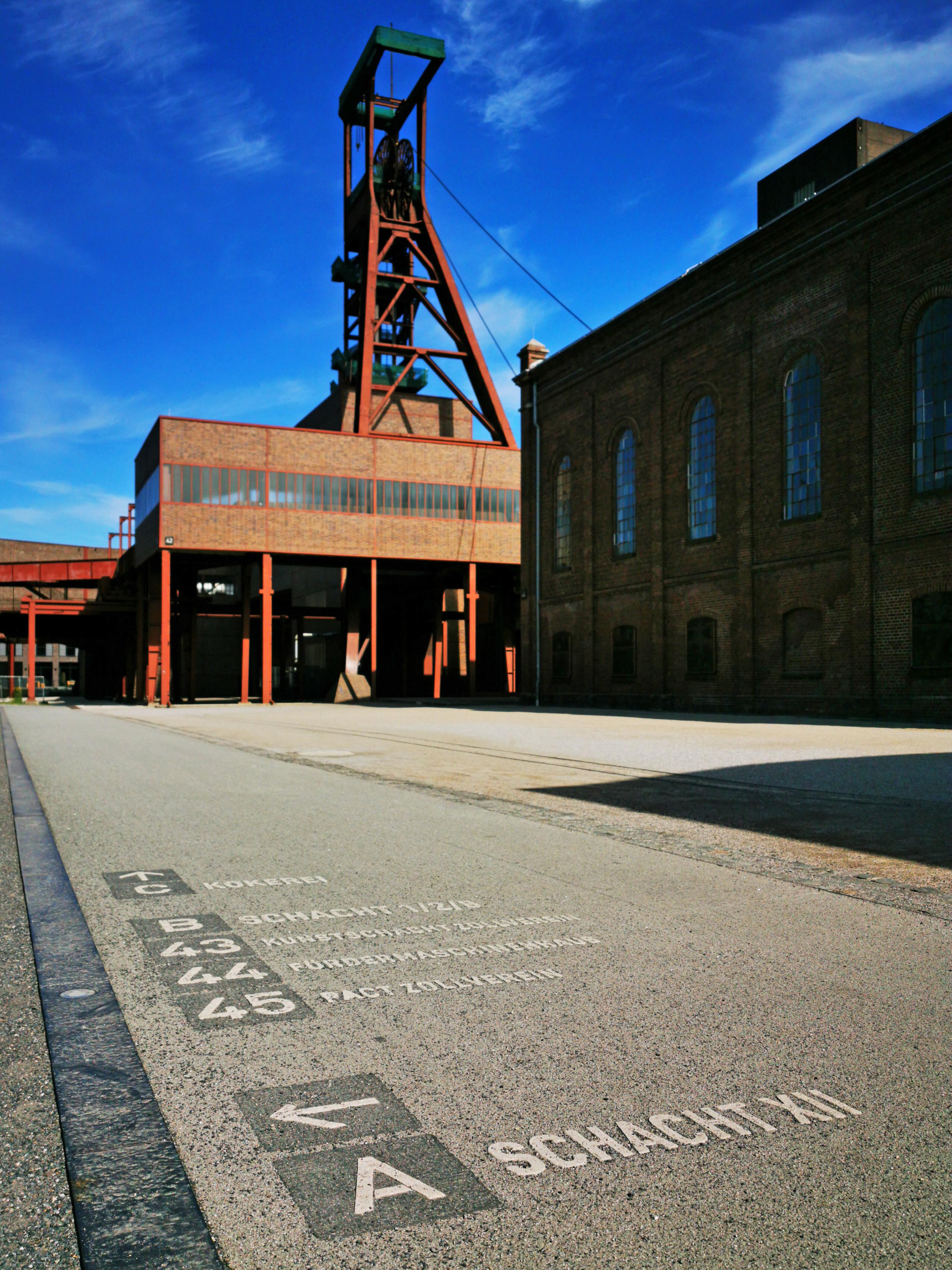 Das Bild zeigt das Welterbe Zollverein