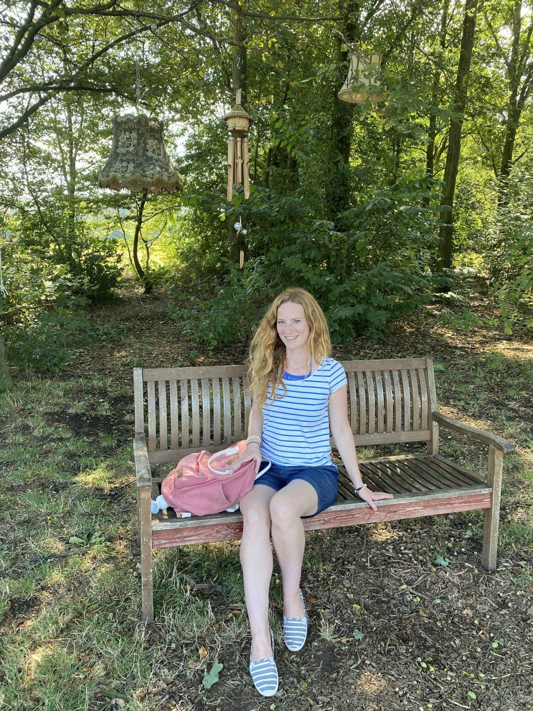 Das Foto zeigt Rebecca bei Al´s Dorado am Kemnader See in Bochum