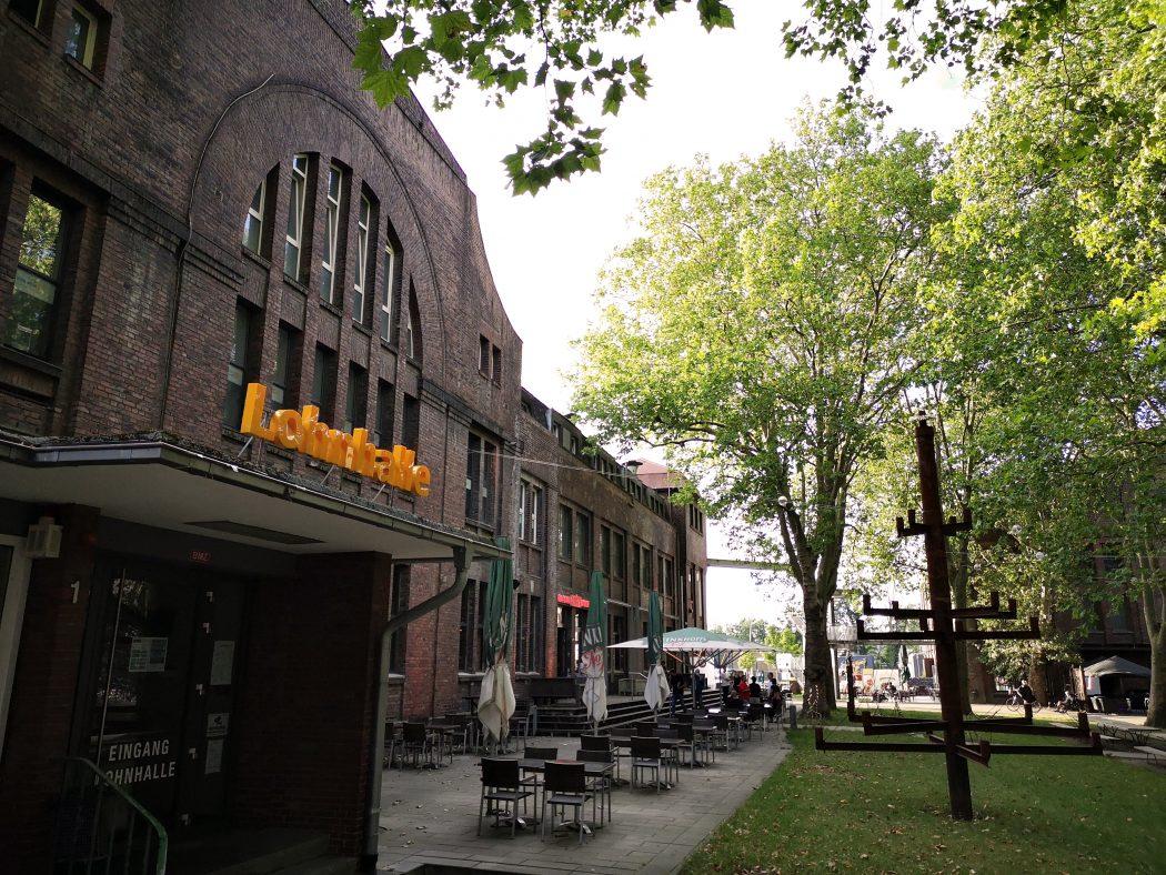 Das Bild zeigt die frühere Lohnhalle im CreativQuartier Fürst Leopold