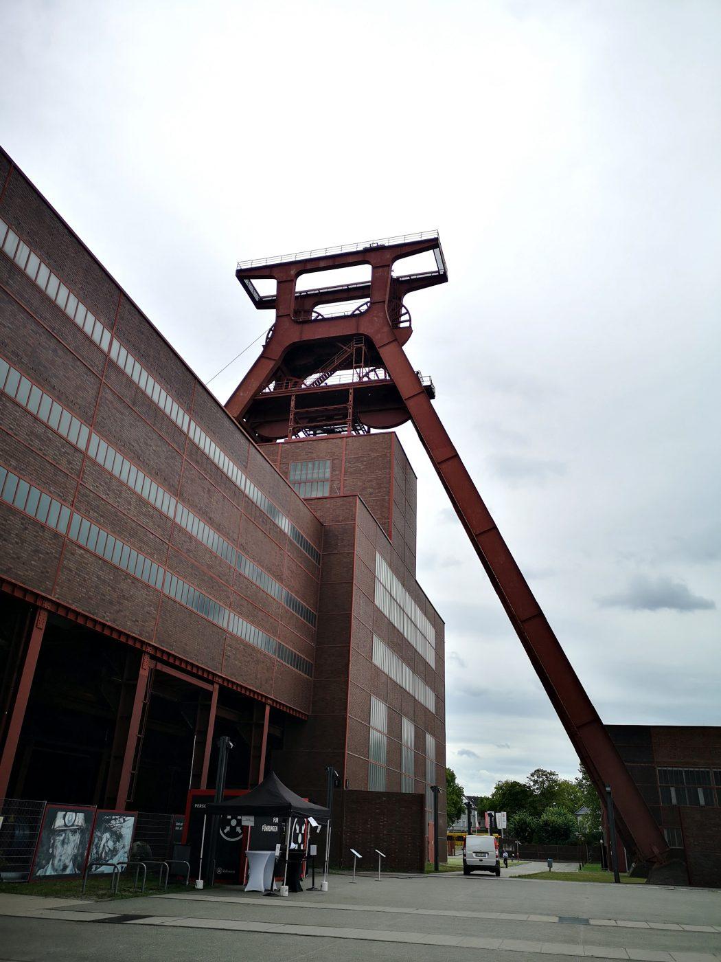 Das Bild zeigt den Doppelbock auf Zollverein