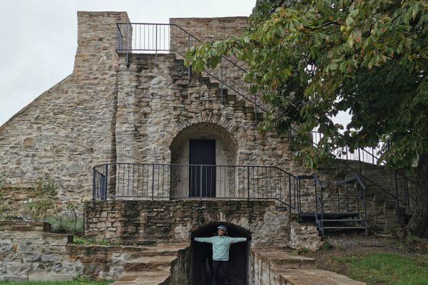 Das Foto zeigt den Innenhof des Schloss Broich in Mülheim an der Ruhr