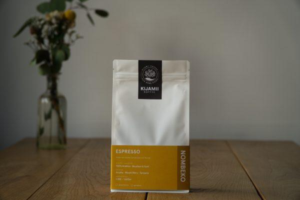 Das Foto zeigt eine Packung Espresse des Café Kimaji in Witten