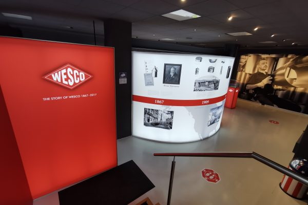 Das Foto zeigt das History Room Museum in der Villa Wesco in Arnsberg