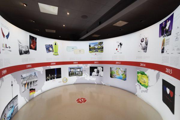 Das Foto zeigr die Geschichte der Firma Wesco in Arnsberg