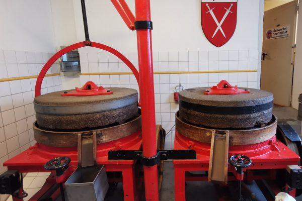 Das Foto zeigt einen Teil der Schwerter Senfmühle