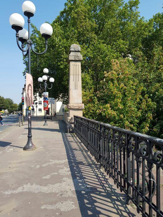 Das Foto zeigt die Möllerbrücke im Kreuzviertel Dortmund