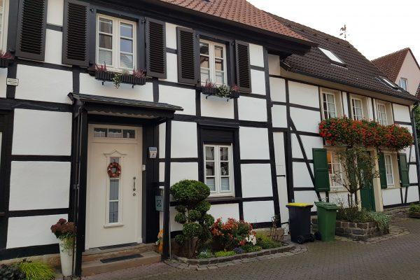 Das Foto zeigt Häuser in der Altstadt von Schwerte