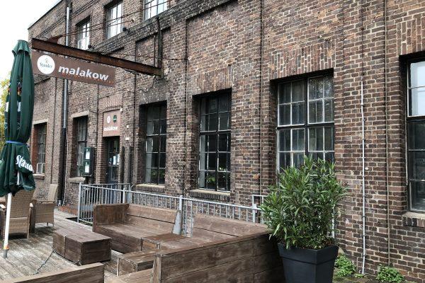 Das Foto zeigt das Restaurant Malakow an der Zeche Carl