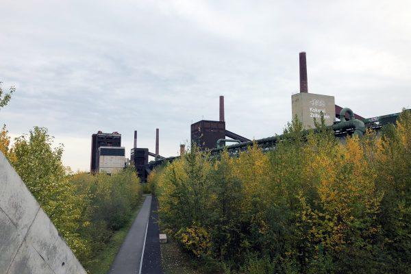 Das Foto zeigt die Kokerei Zollverein
