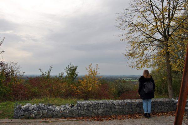 Das Foto zeigt Melissa auf der Halde Großes Holz in Bergkamen