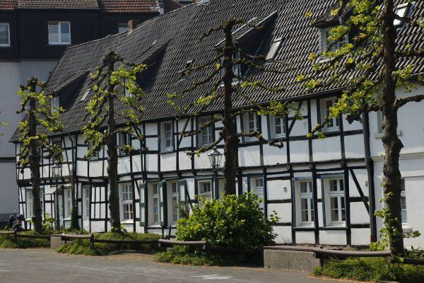 Das Bild zeigt die Zechensiedlung Lange Riege in Hagen