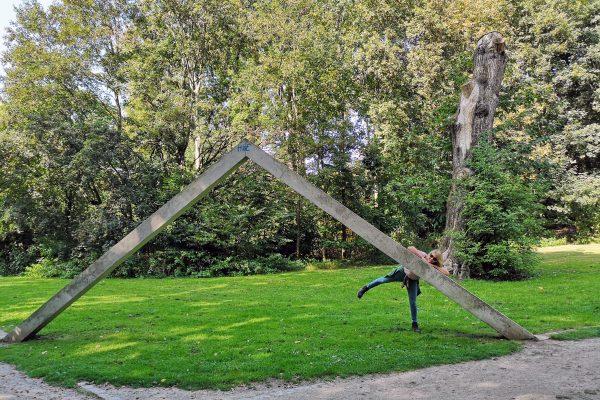 Das Foto zeigt Heike im Schlosspark Weitmar in Bochum