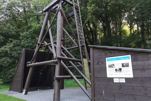 Das Foto zeigt die Kleinzeche Haunert am Waldhaus Bochum