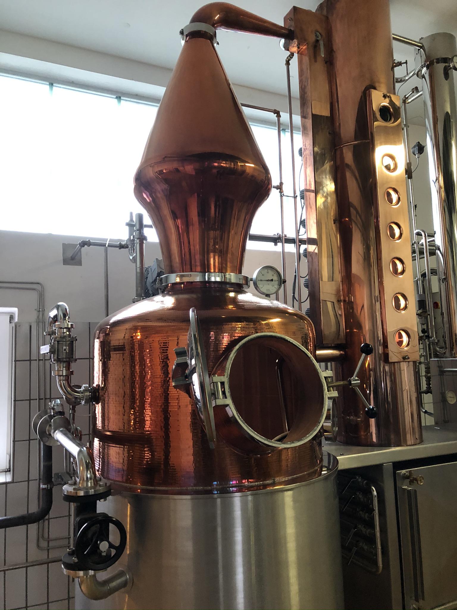 Destille in der Brennerei Ehringhausen in Werne