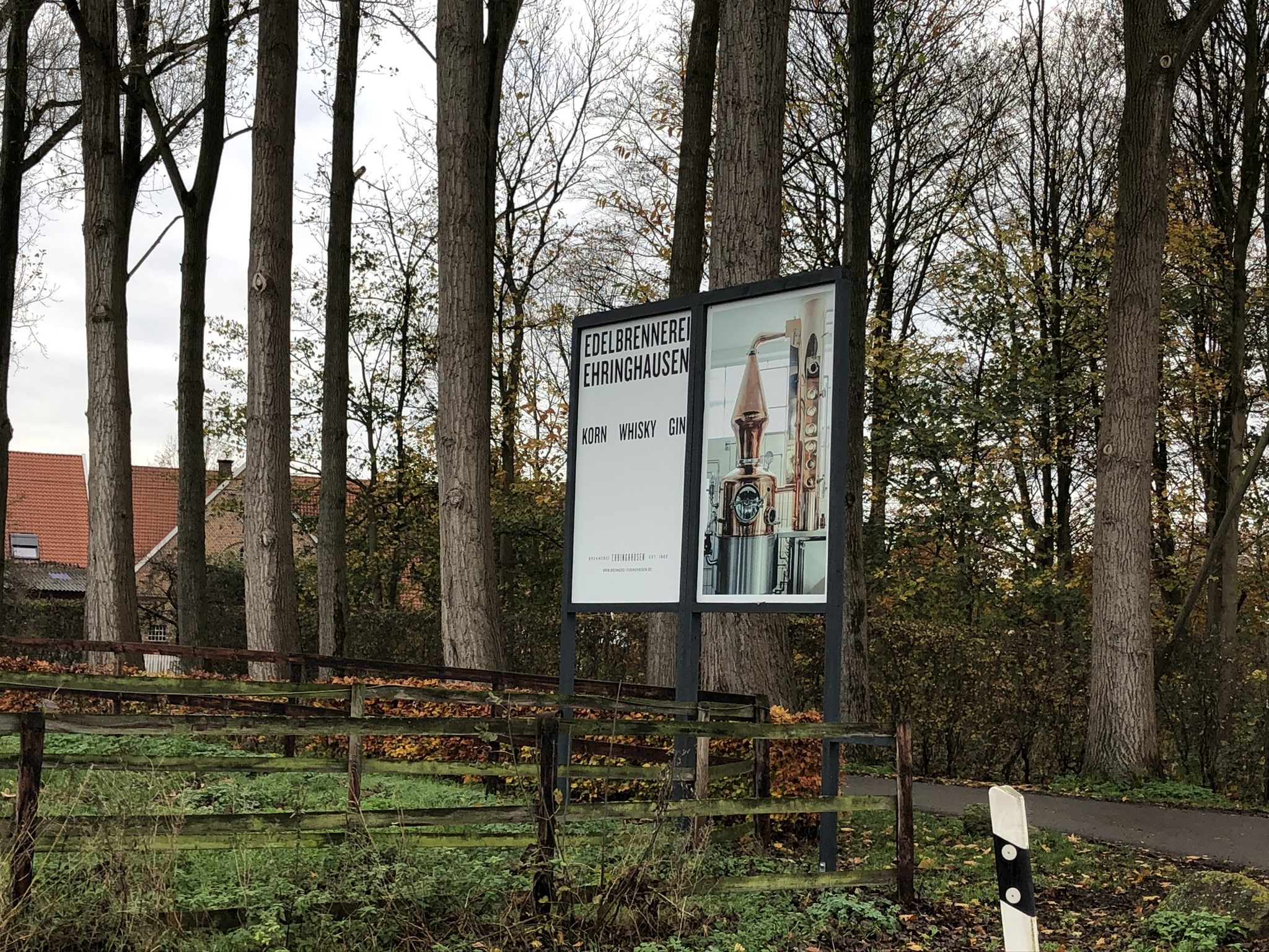 Edle Brände gibt es in der Brennerei Ehringhausen