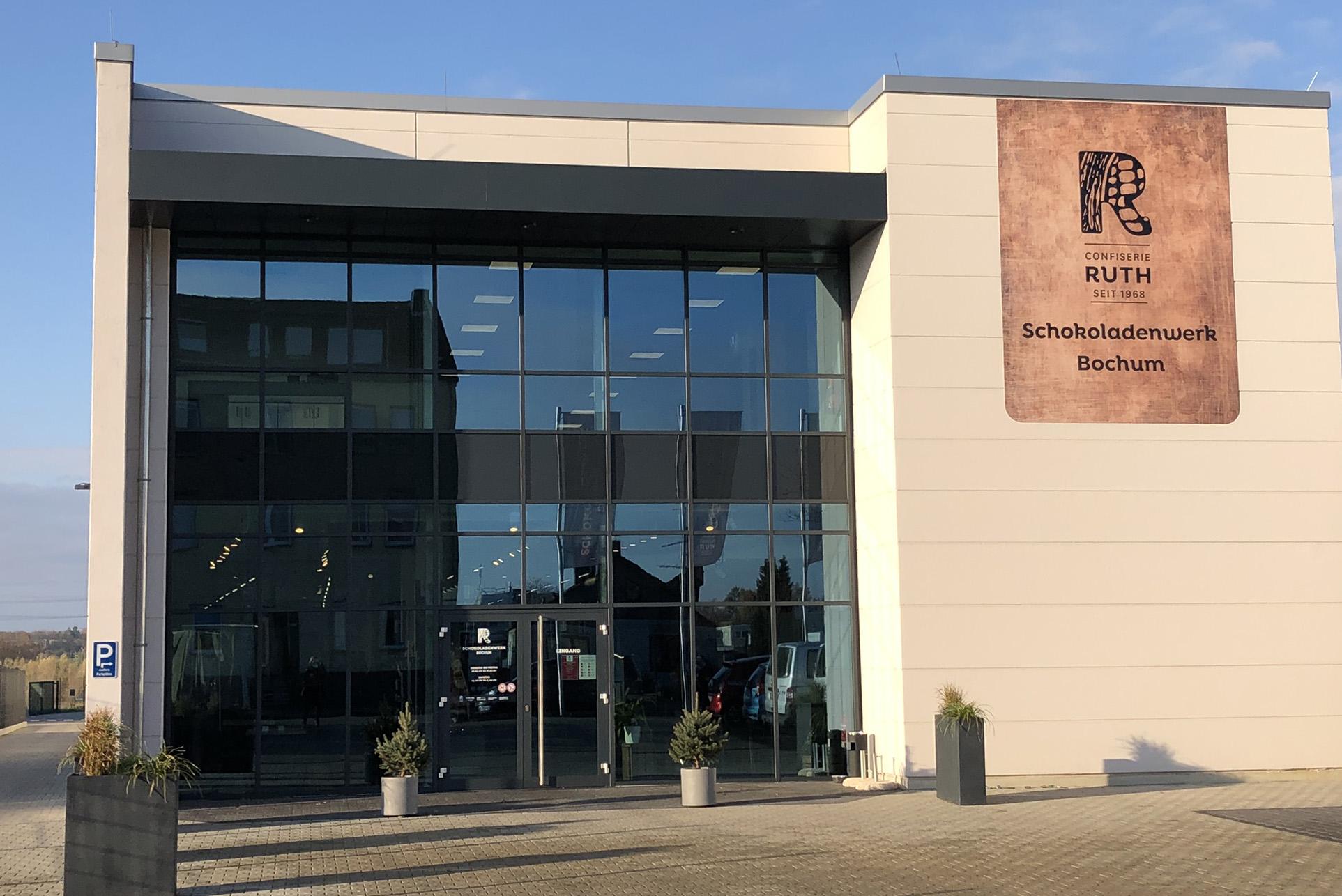 Das Schokoladenwerk Ruth in Bochum