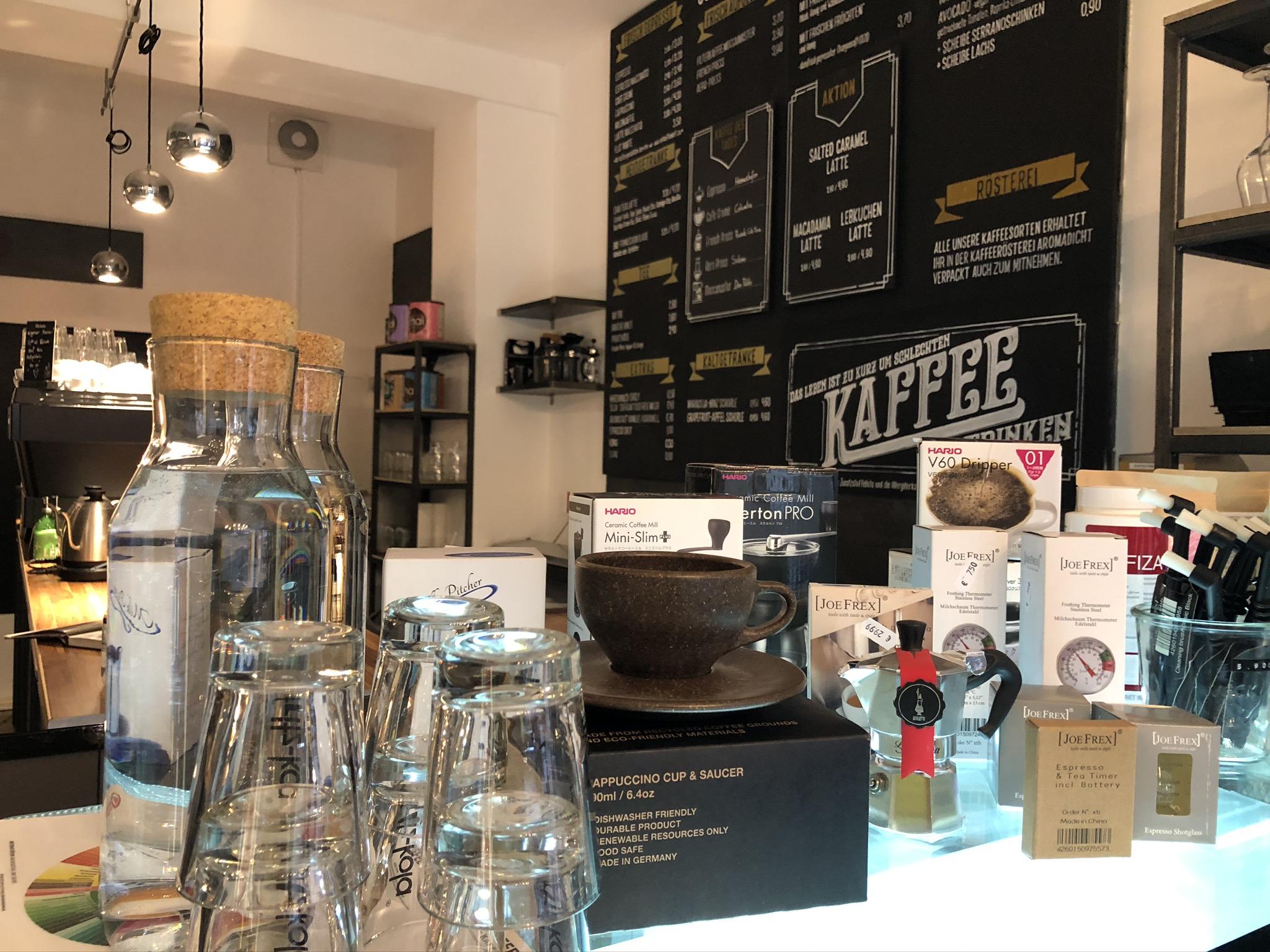 Kaffee Zubereitung Zubehör bei den coffee pirates in Essen