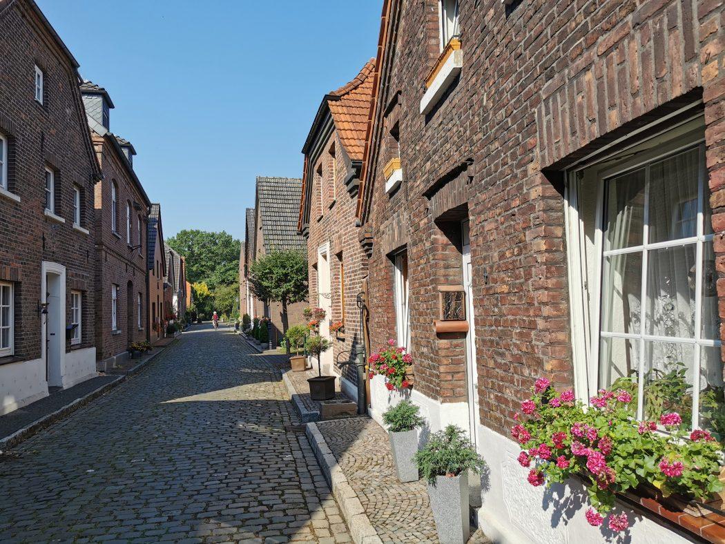 Das Foto zeigt das Dorf Krudenburg in Hünxe