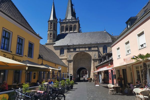 Das Foto zeigt die Altstadt von Xanten