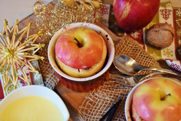 Das Bild zeigt Bratäpfel