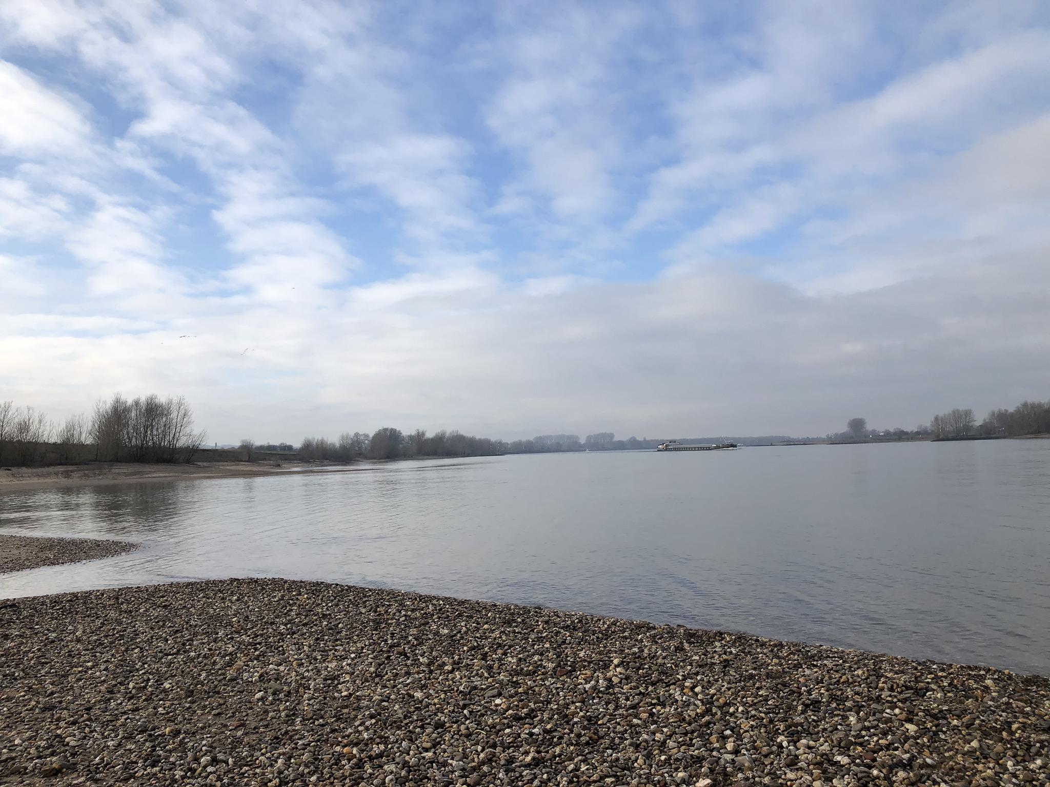 Weiter Himmel am Niederrhein in Xanten im Ruhrgebiet