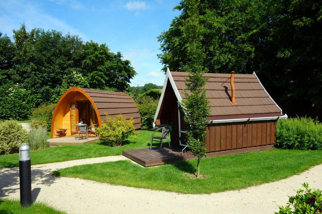 Das Foto zeigt eine Unterkunft auf dem Kerstgenshof in Sonsbeck