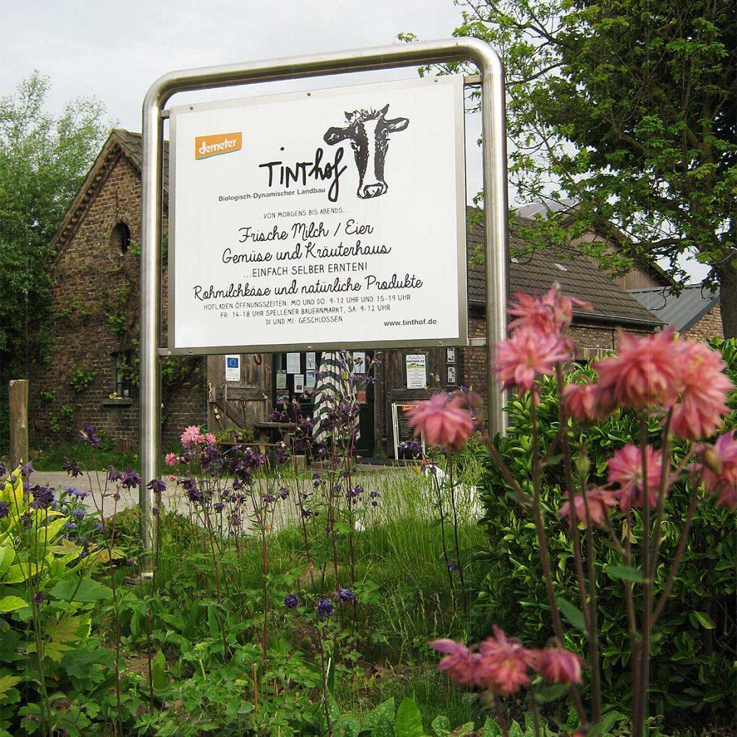 Das Foto zeigt den Tinthof in Voerde