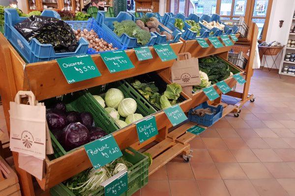Das Foto zeigt Gemüse im Schwafheimer Hofladen in Moers