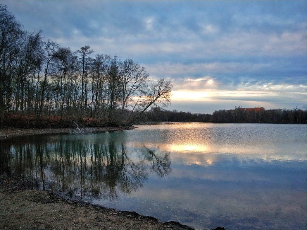 Das Foto zeigt die Sechs-Seen-Platte in Duisburg.