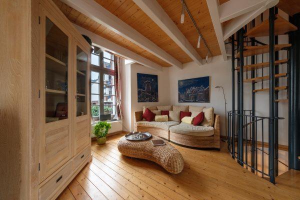 Das Foto zeigt die Ferienwohnung Westwall in Xanten