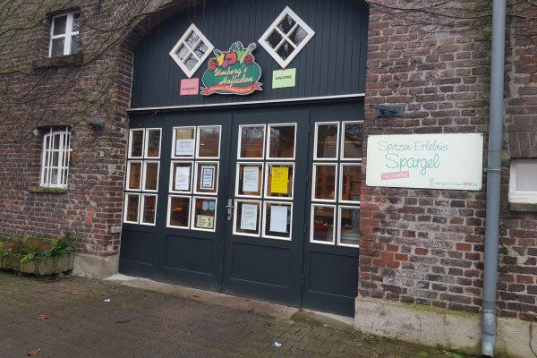 Das Foto zeigt den Hofladen des Hof Umbergs in Bottrop-Kirchhellen