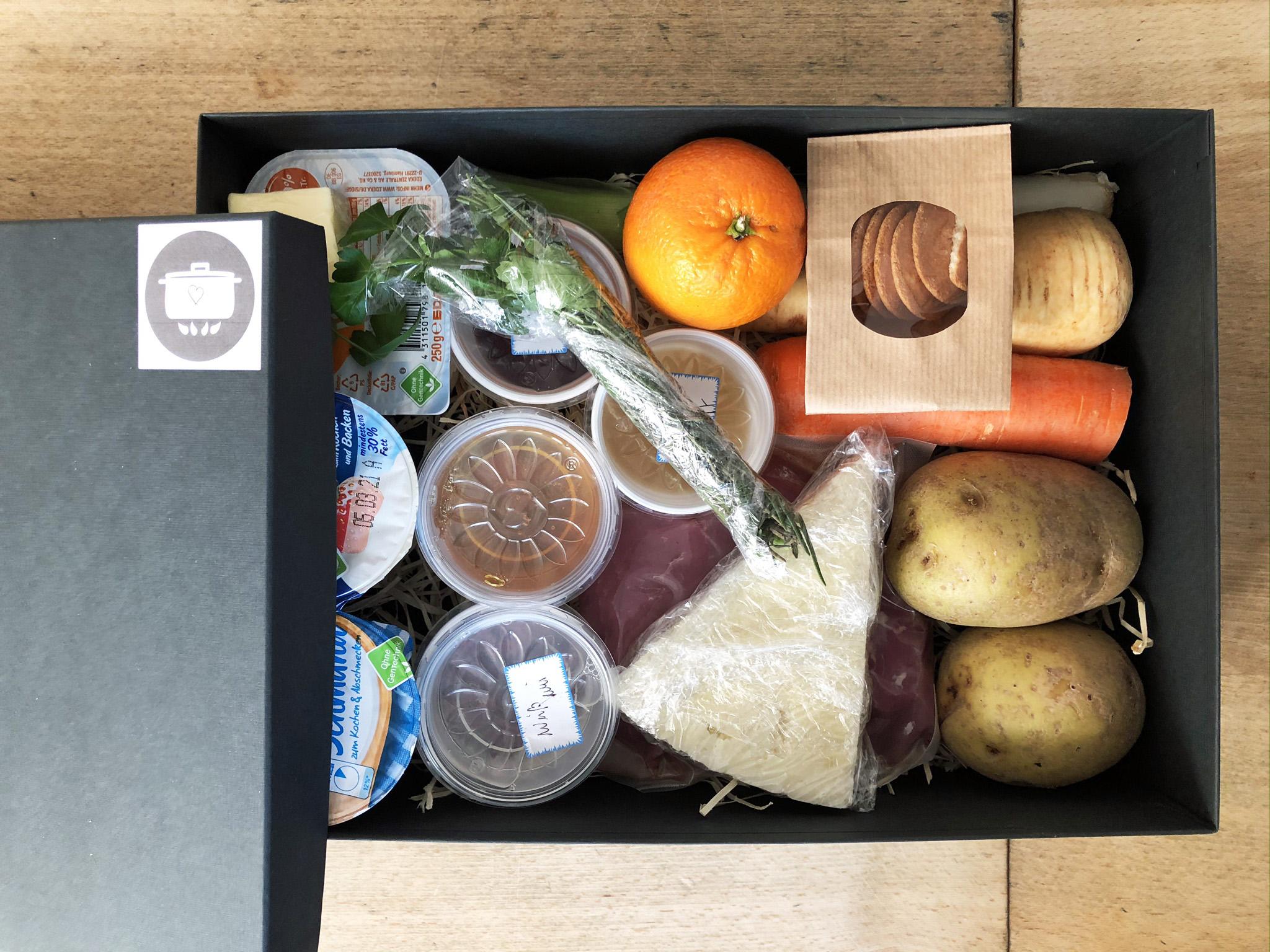 die Kochmo-Box der Kochmomente Kochschule in Bochum