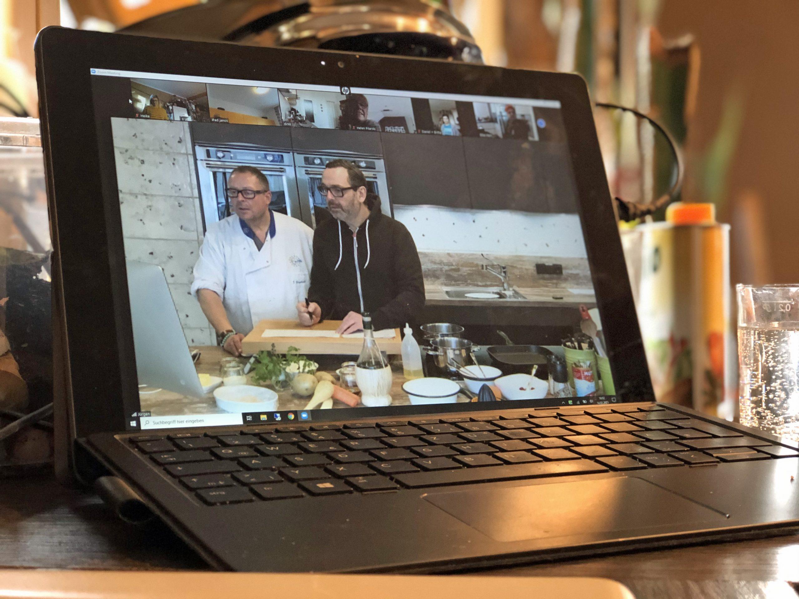 Digitaler Kochkurs mit Kochmomente