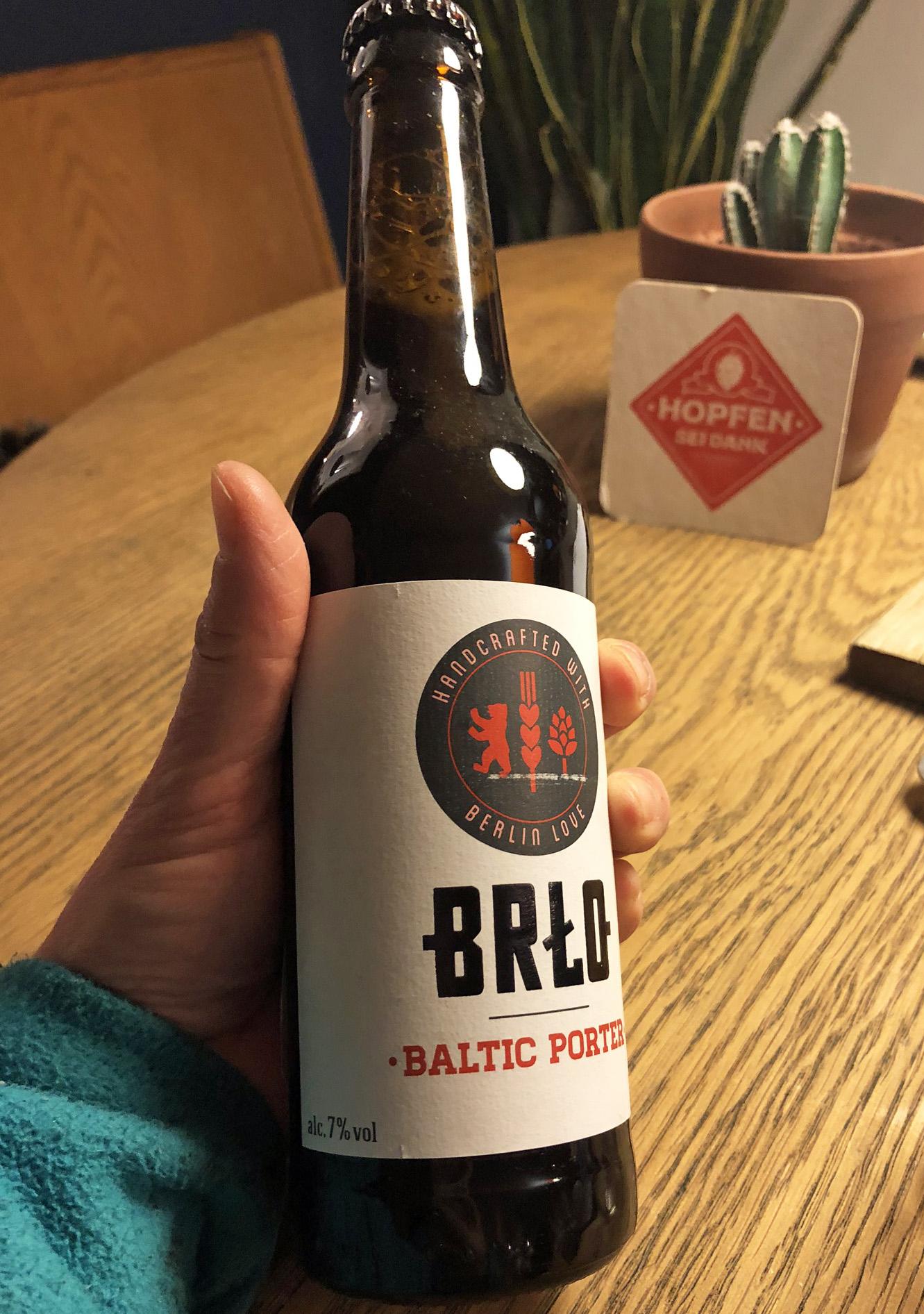 Brlo Bieir aus Berlin