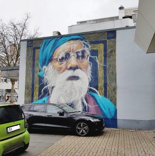 Das Foto zeigt ein cooles Graffiti in Bochum