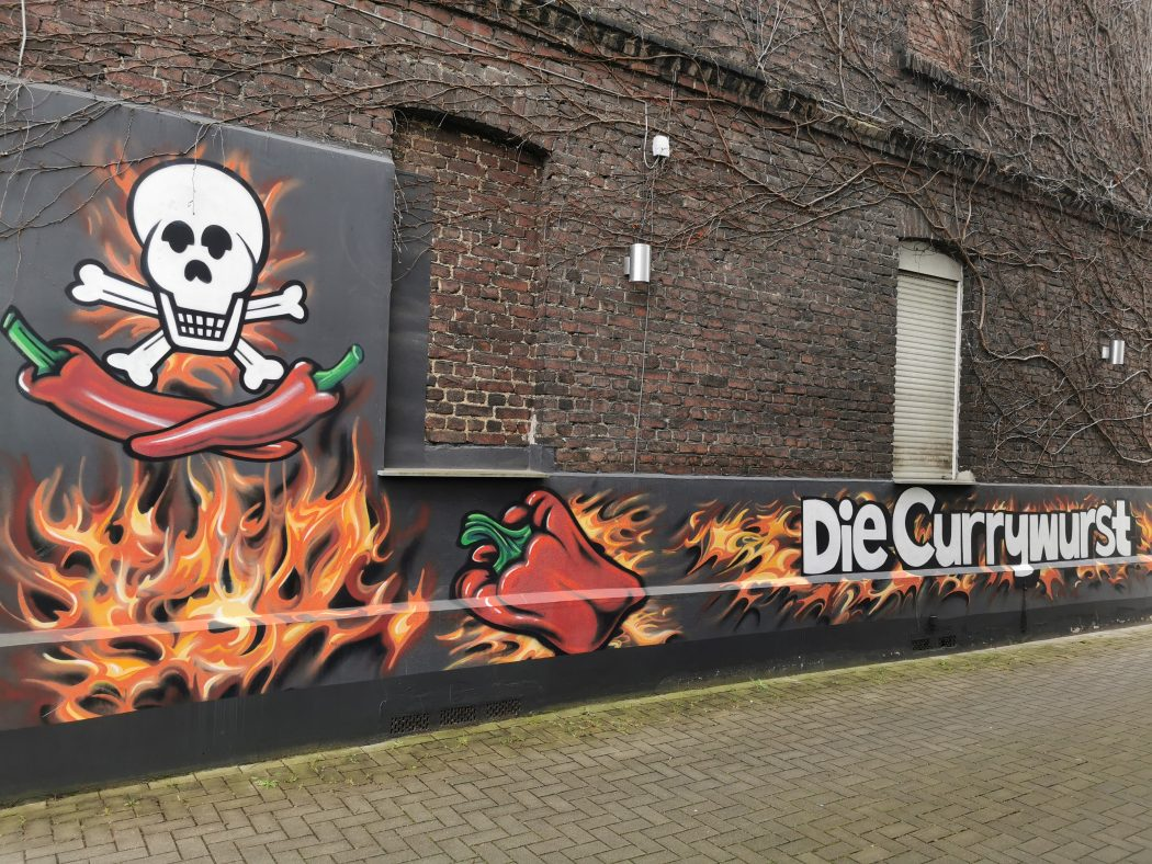 """Das Foto zeigt """"Die Currywurst"""" in Wanne-Eickel"""