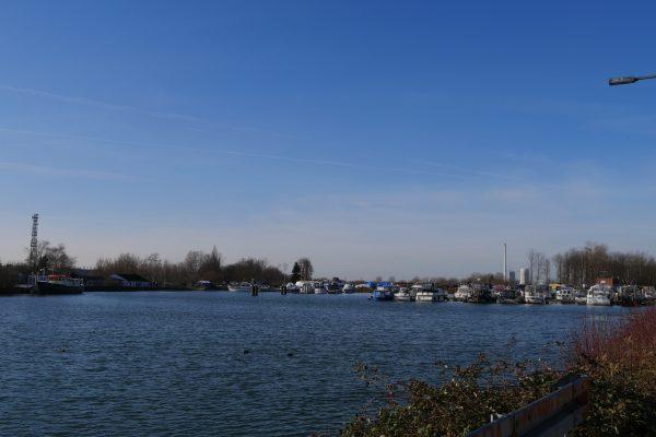 Das Foto zeigt das Herner Meer in Herne
