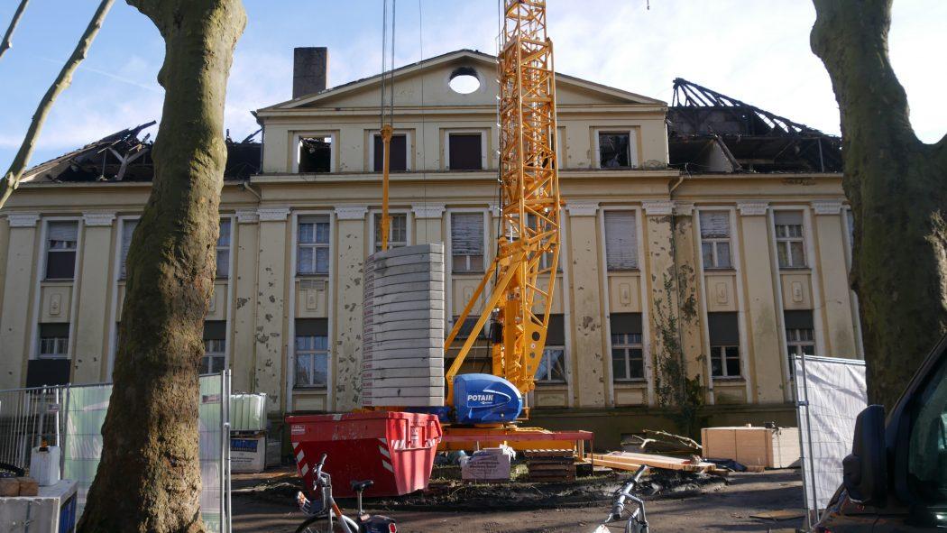 Das Foto zeigt die frühere Hauptverwaltung der Zeche Friedrich der Große in Herne