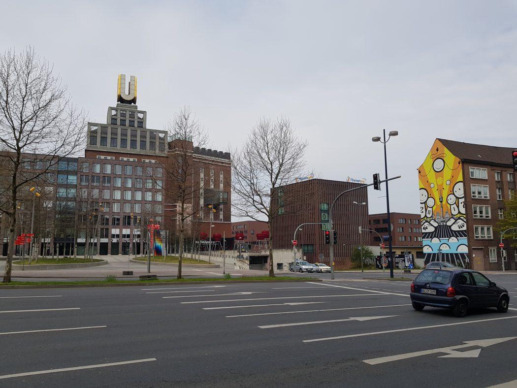 Das Foto zeigt das Dortmunder U