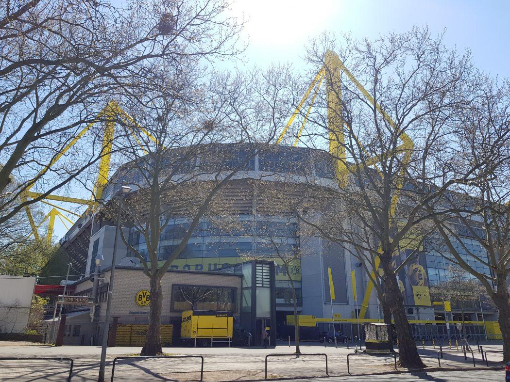 Das Foto zeigt den Signal Iduna Park in Dortmund