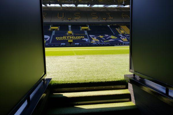 Das Foto zeigt das Stadion von Borussia Dortmund