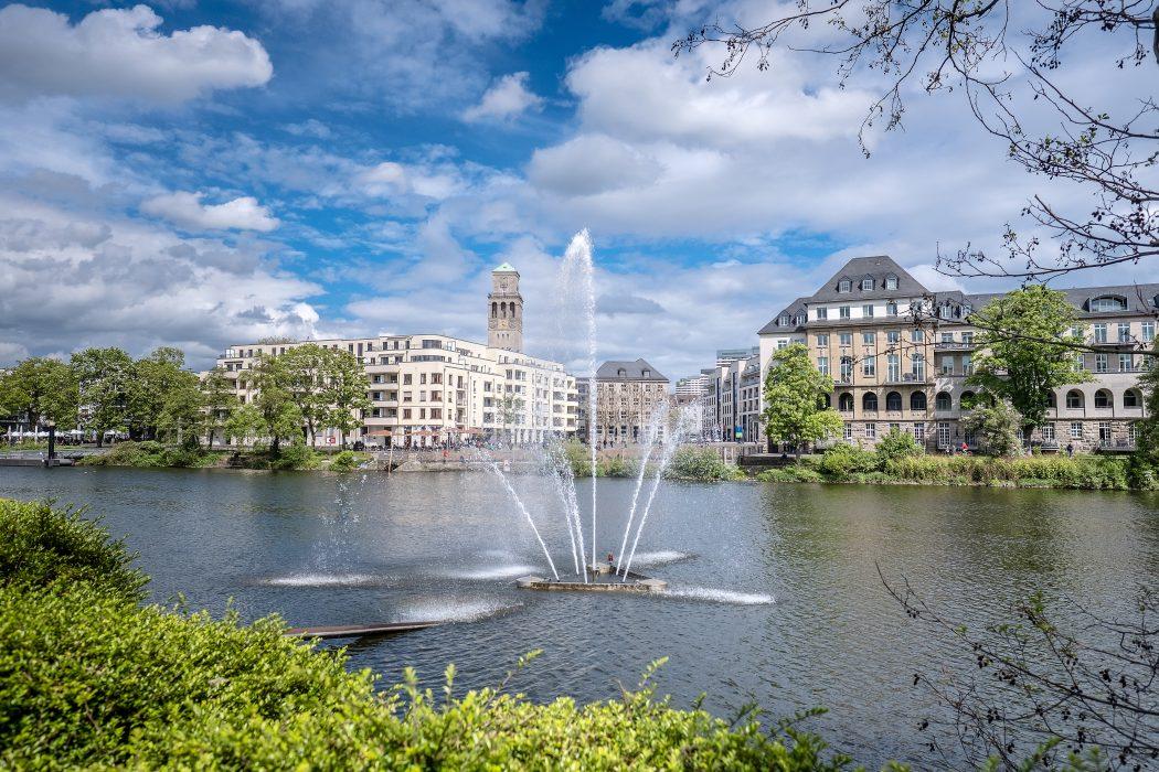 Das Foto zeigt Mülheim an der Ruhr