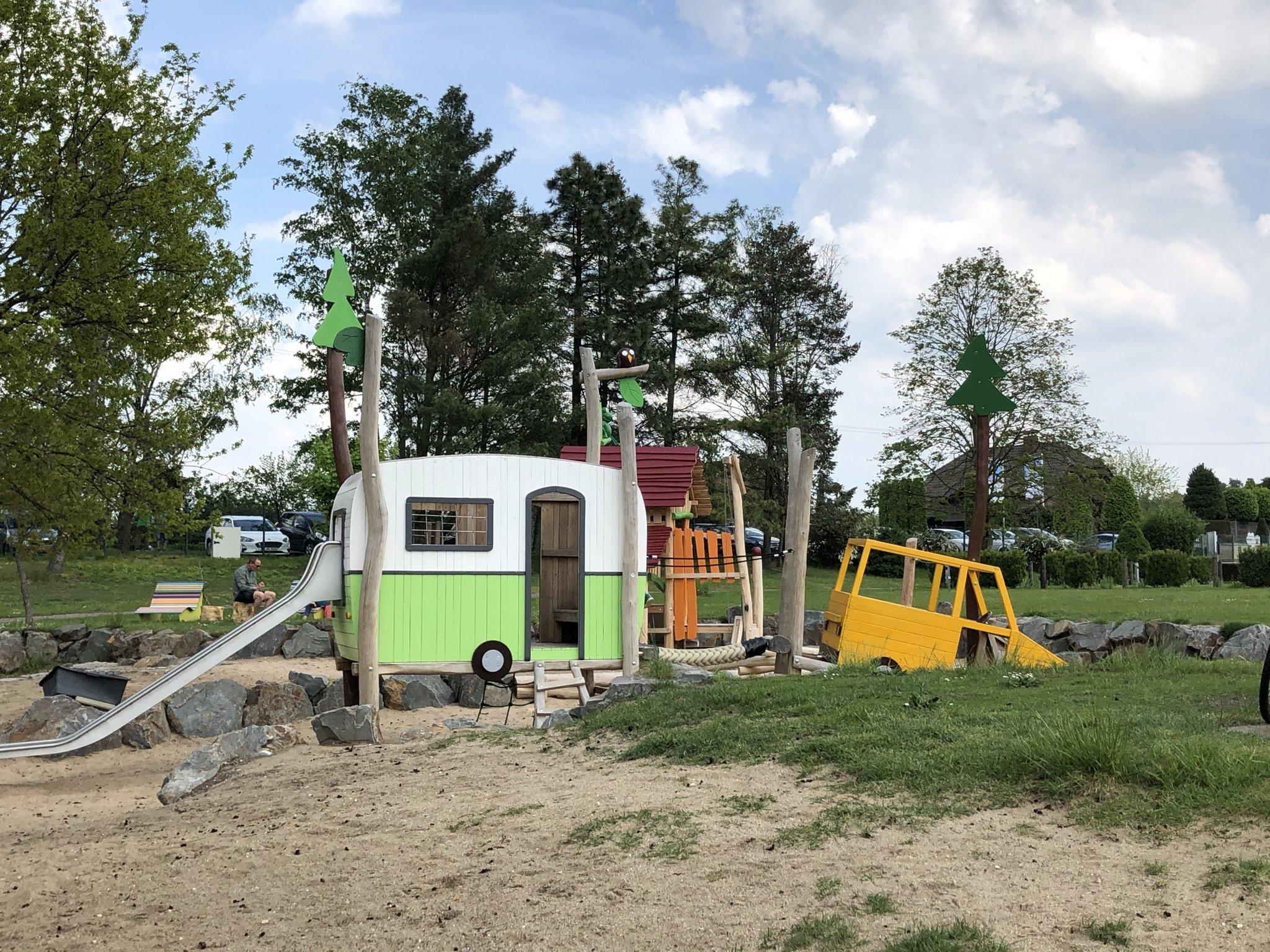 Neuer Spielplatz Dingdener Heide