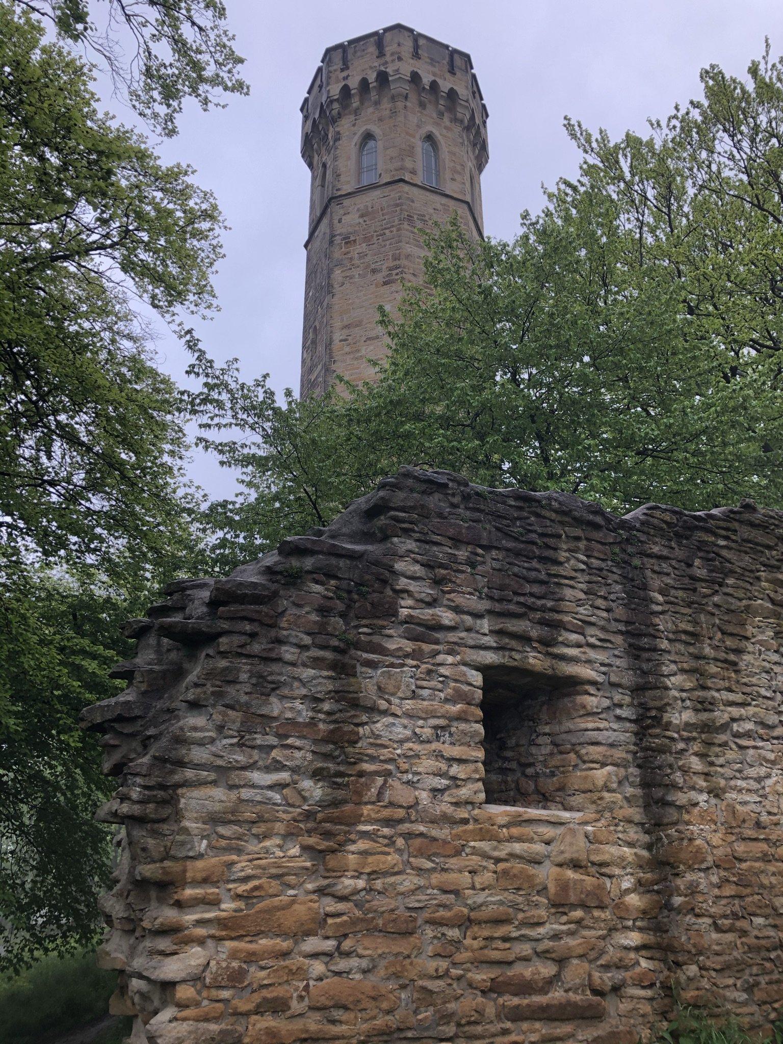 Ruinen der Syburg in Dortmund