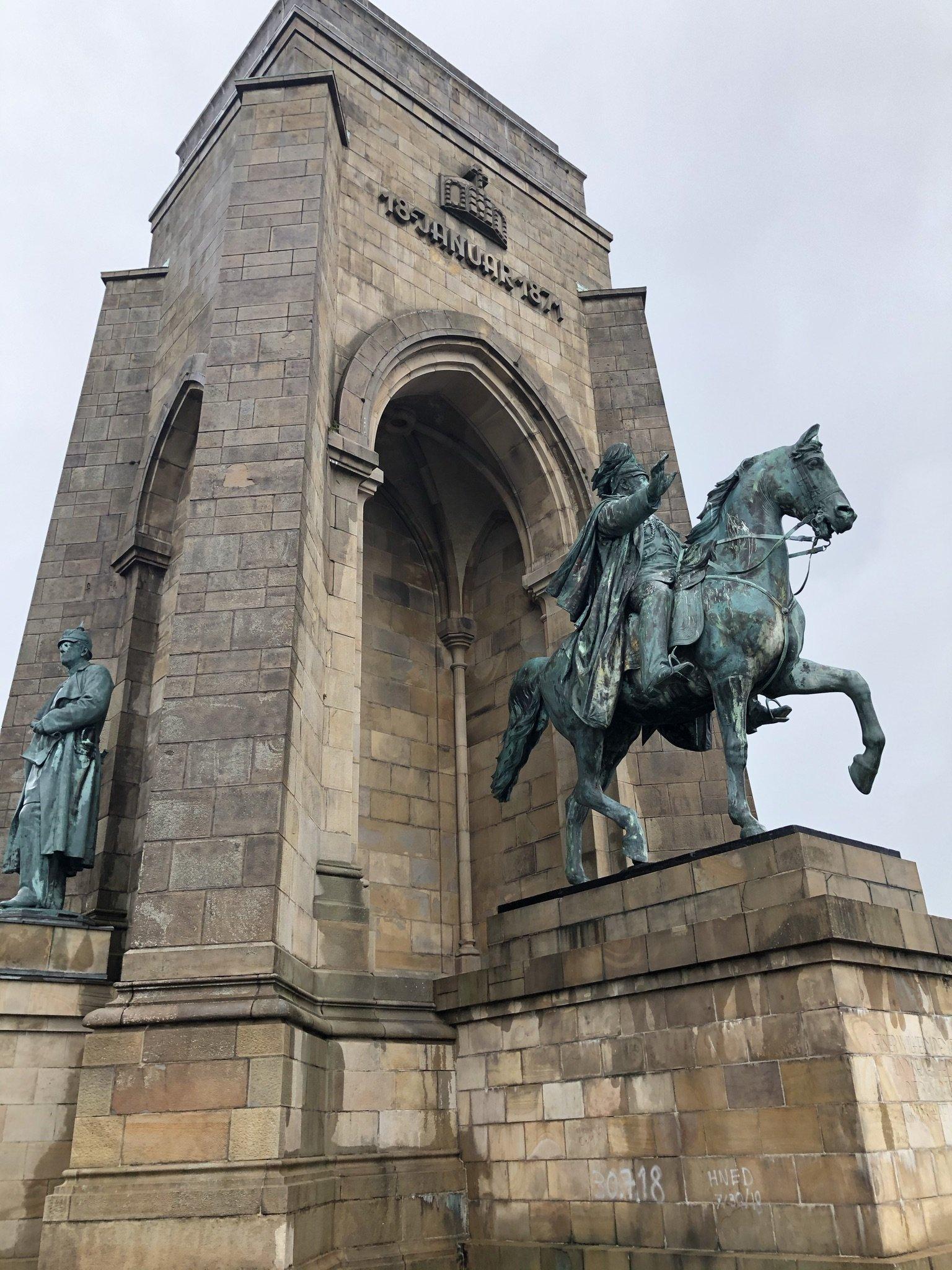 Kaiser Willhem Denkmal auf der Hohensyburg