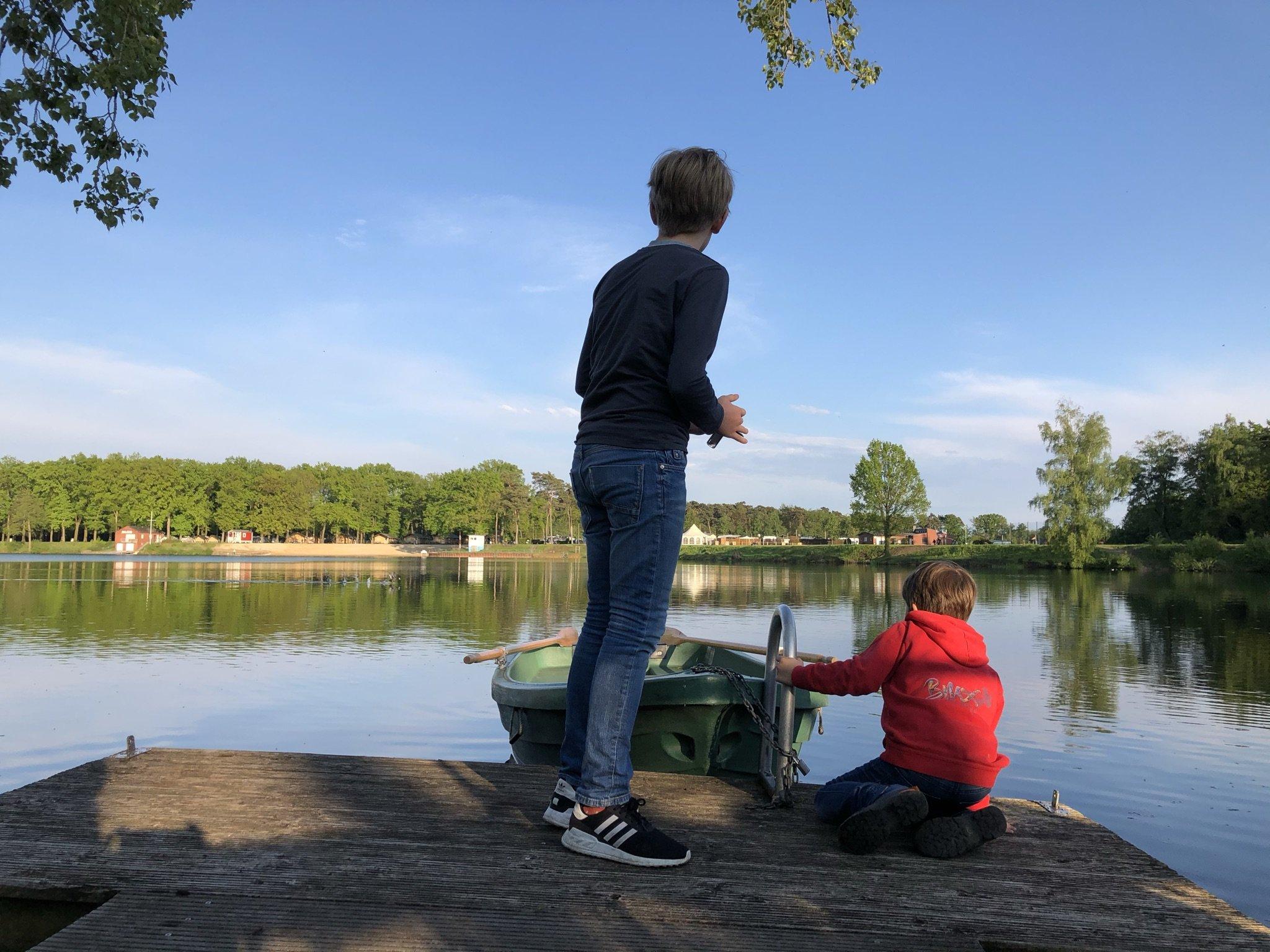 Ruderboot am Ternscher See