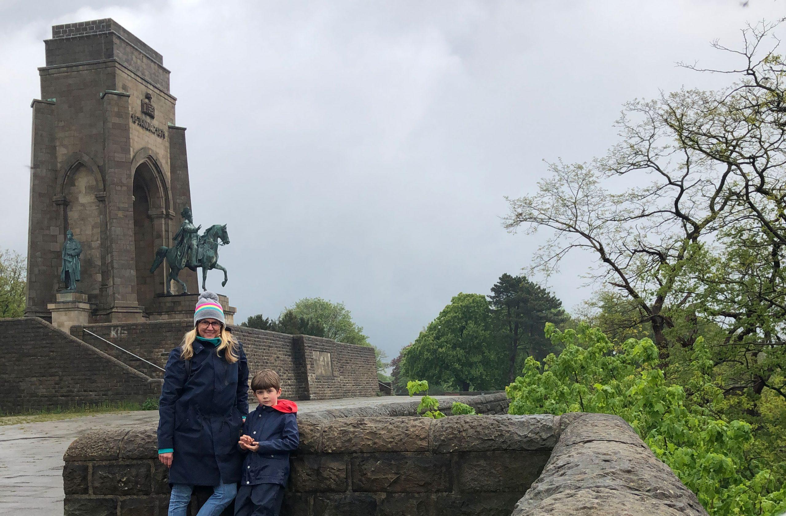Blick auf das Kaiser-Willhelm-Denkmal in Hohensyburg