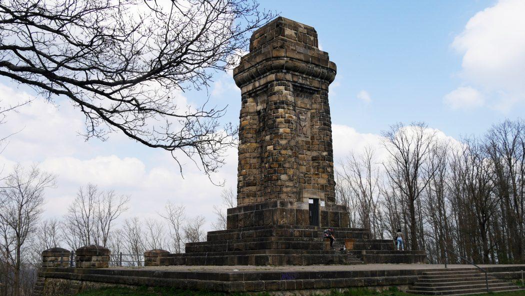 Das Foto zeigt den Bismarckturm in Hagen