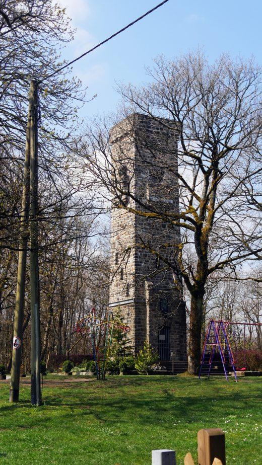 Das Foto zeigt den Kaiser-Friedrich-Turm in Hagen