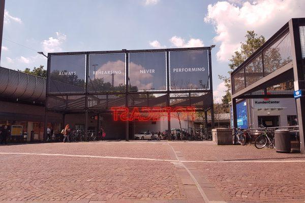 Das Bild zeigt eine Einkaufsstraße in Gelsenkirchen